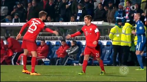 Thomas Müller & Philipp Lahm – Bochum v Bayern 2