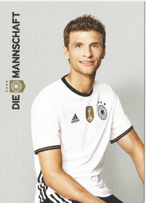 Thomas Müller– die Mannschaft 2016 card 1