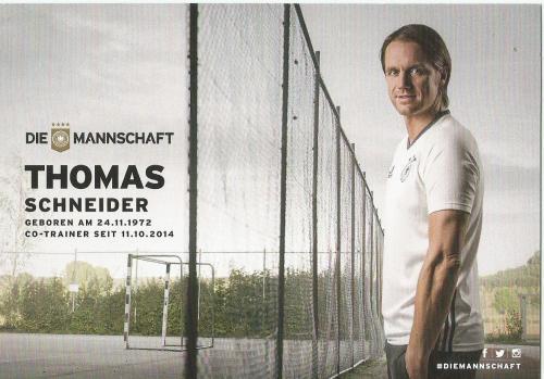 Thomas Schneider – die Mannschaft 2016 card 2