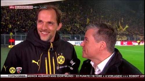 Thomas Tuchel - pre-match interview - Borussia Dortmund v Ingolstadt 1