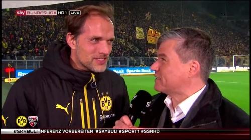Thomas Tuchel - pre-match interview - Borussia Dortmund v Ingolstadt 2