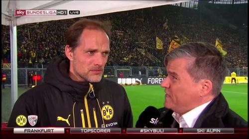 Thomas Tuchel - pre-match interview - Borussia Dortmund v Ingolstadt 3