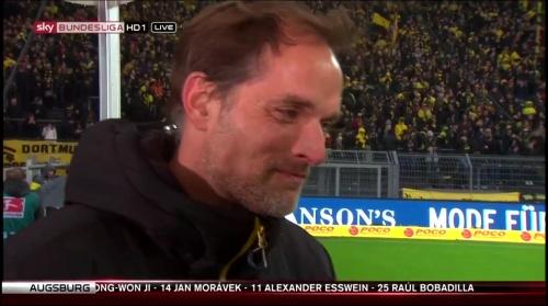 Thomas Tuchel - pre-match interview - Borussia Dortmund v Ingolstadt 4