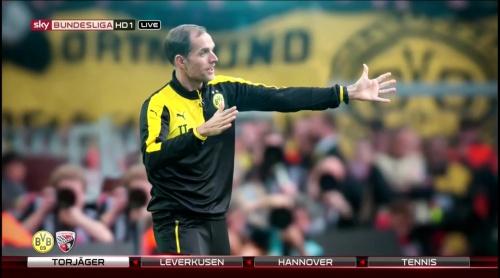 Thomas Tuchel - pre-match show - Borussia Dortmund v Ingolstadt 1