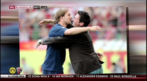 Thomas Tuchel - pre-match show - Borussia Dortmund v Ingolstadt 11