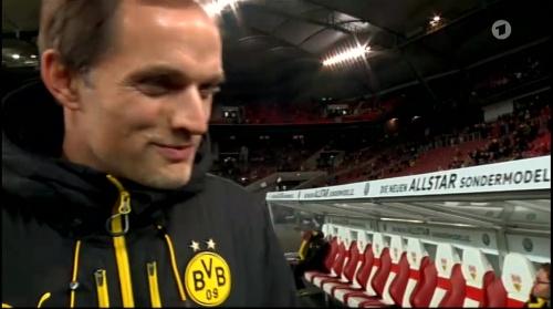 Thomas Tuchel - Stuttgart v Dortmund - DFB Pokal 1