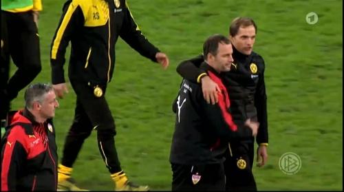 Thomas Tuchel - Stuttgart v Dortmund - DFB Pokal 11