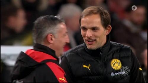 Thomas Tuchel - Stuttgart v Dortmund - DFB Pokal 12
