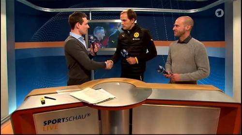 Thomas Tuchel - Stuttgart v Dortmund - DFB Pokal 13