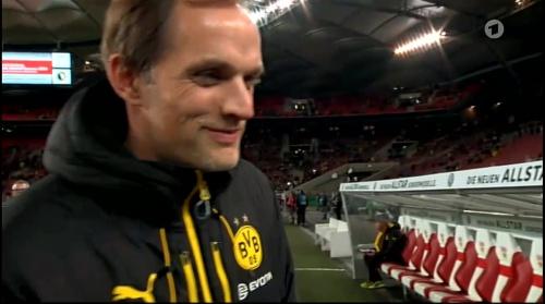 Thomas Tuchel - Stuttgart v Dortmund - DFB Pokal 2