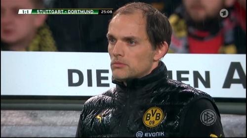 Thomas Tuchel - Stuttgart v Dortmund - DFB Pokal 3