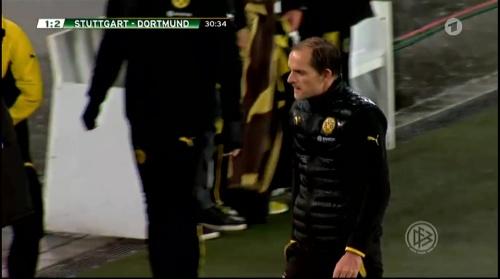 Thomas Tuchel - Stuttgart v Dortmund - DFB Pokal 4