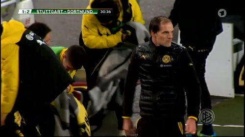 Thomas Tuchel - Stuttgart v Dortmund - DFB Pokal 5