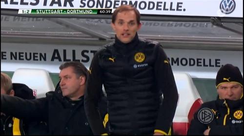 Thomas Tuchel - Stuttgart v Dortmund - DFB Pokal 6