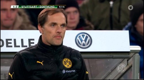 Thomas Tuchel - Stuttgart v Dortmund - DFB Pokal 7