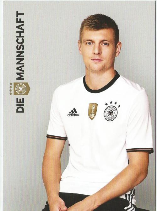 Toni Kroos – die Mannschaft 2016 card 1