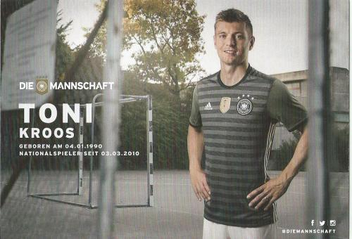 Toni Kroos – die Mannschaft 2016 card 2
