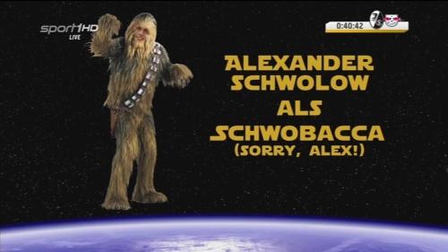 Alexander Schwolow als Schowbacca