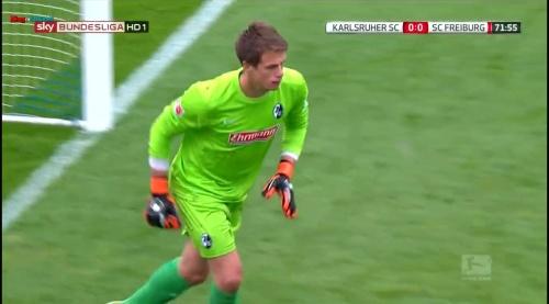 Alexander Schwolow – Karlsruher SC v SC Freiburg 10