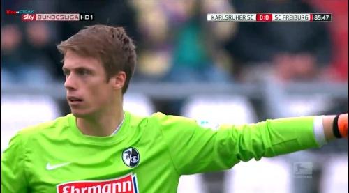 Alexander Schwolow – Karlsruher SC v SC Freiburg 11