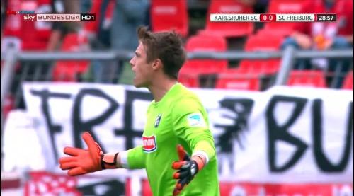 Alexander Schwolow – Karlsruher SC v SC Freiburg 5