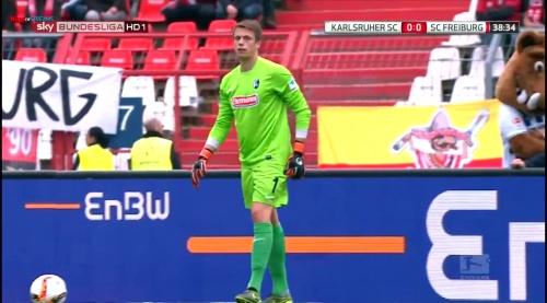 Alexander Schwolow – Karlsruher SC v SC Freiburg 6