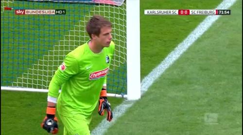 Alexander Schwolow – Karlsruher SC v SC Freiburg 9
