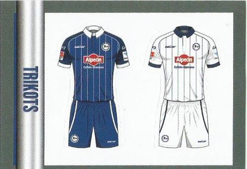 Arminia Bielefeld Trikots – Bundesliga 2015-16 sticker