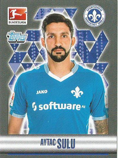 Aytac Sulu – Darmstadt – Bundesliga 2015-16 sticker