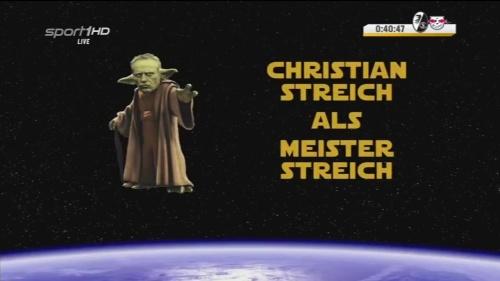 Christian Streich als Meister Streich
