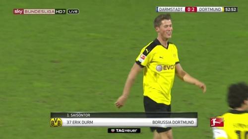 Erik Durm - Darmstadt v Dortmund 2