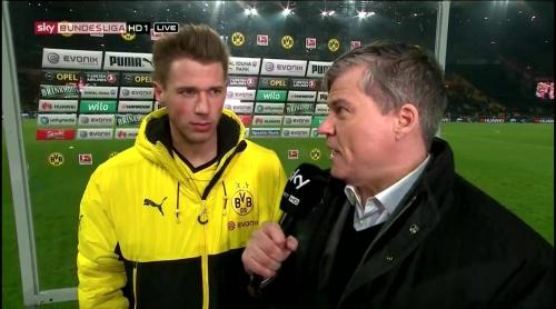 Erik Durm – Dortmund v Bayern 3