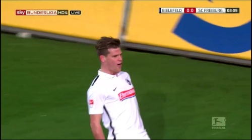 Florian Niederlechner - Arminia Bielefeld v SC Freiburg 1