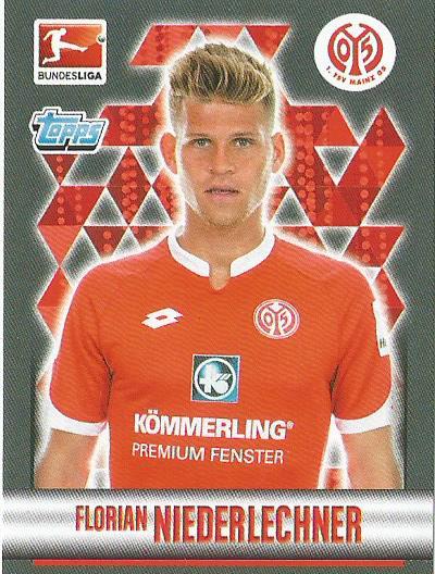 Florian Niederlechner - Bundesliga 2015-16 sticker