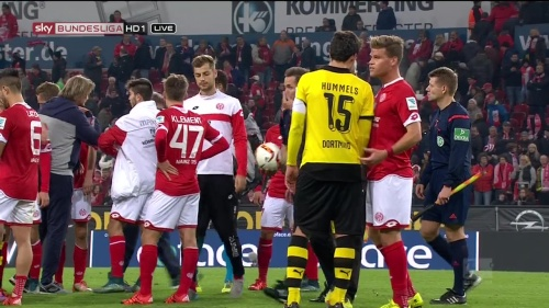 Florian Niederlechner - Mainz v Dortmund