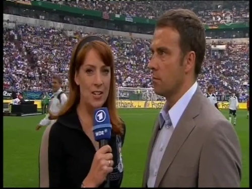 Hansi Flick – Germany v Serbia (2008) hal-time interview