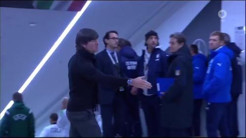 Joachim Löw 1st half – Deutschland v Italien 1