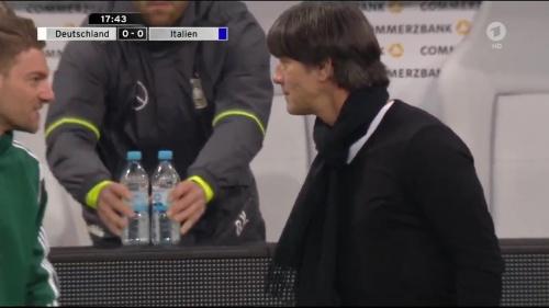 Joachim Löw 1st half – Deutschland v Italien 17