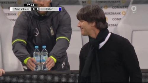 Joachim Löw 1st half – Deutschland v Italien 18