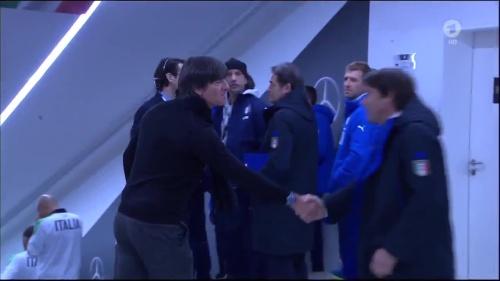 Joachim Löw 1st half – Deutschland v Italien 2
