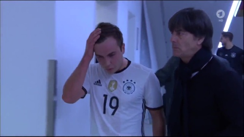 Joachim Löw 1st half – Deutschland v Italien 28