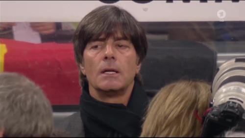 Joachim Löw 1st half – Deutschland v Italien 5