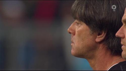 Joachim Löw 1st half – Deutschland v Italien 6