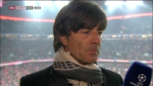 Joachim Löw – Bayern v Juventus half-time interview 2