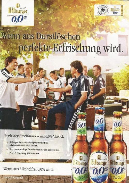 Joachim Löw – Bitburger ad