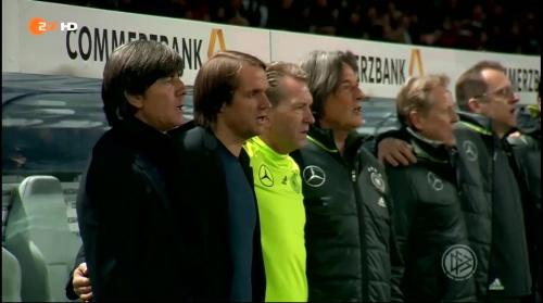 Joachim Löw – Deutschland v England – 1st half 1