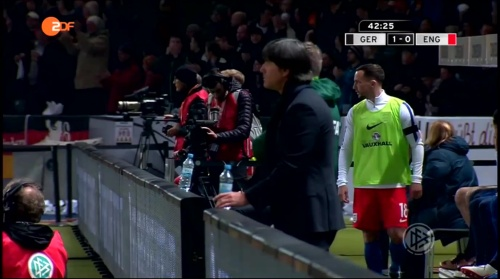 Joachim Löw – Deutschland v England – 1st half 11