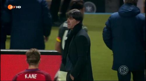 Joachim Löw – Deutschland v England – 1st half 14