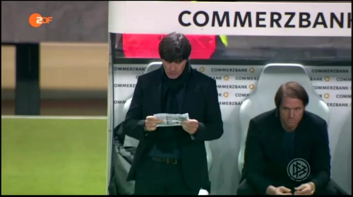 Joachim Löw – Deutschland v England – 1st half 3