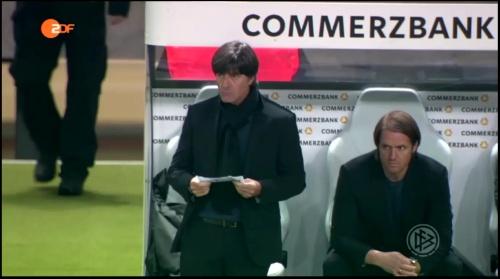 Joachim Löw – Deutschland v England – 1st half 4